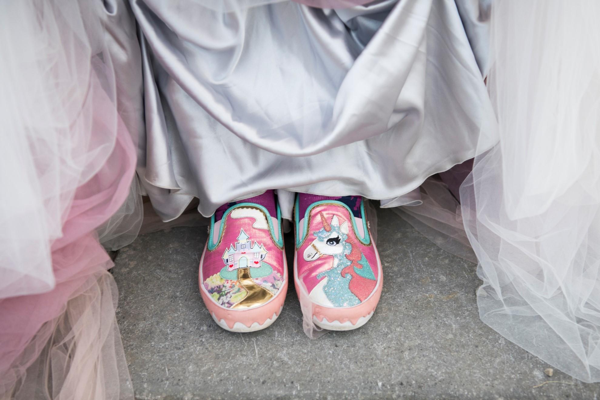 Zoo Wedding- Emma May Photography- Unconventional Wedding- Unique Wedding Inspiration- Quirky Wedding Shoes