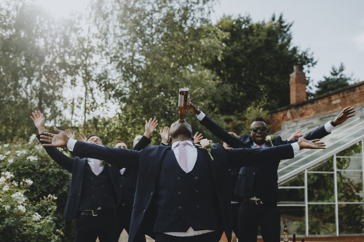 Getting Married Abroad- Grooms Perspective- Wedding Planning for Men- Unconventional Wedding- Nathan Walker Photography- Groomsmen drinking beer