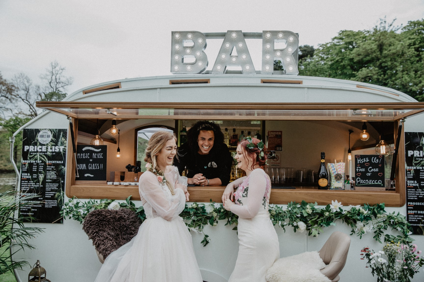 the bubble bar- meadow vale wedding fair-unique nottingham wedding fair- nottingham wedding fair- Nottingham alternative wedding fair- unique wedding fairs- unconventional wedding-