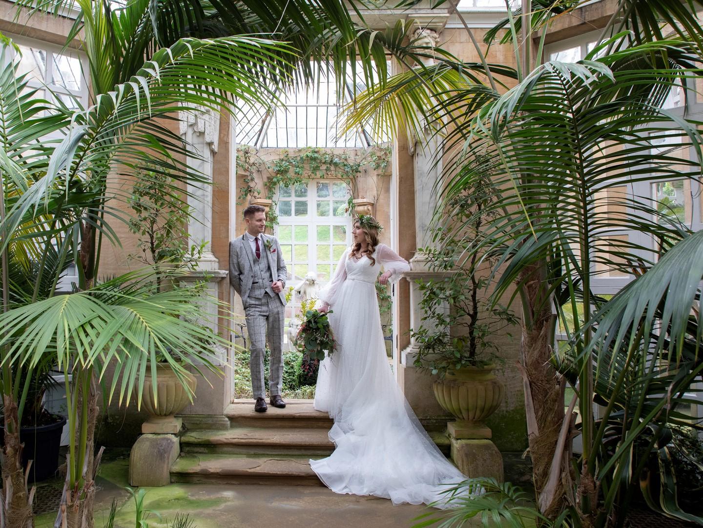Tropical Boho Wedding- Pink Photographics- Greenhouse Wedding- Harlaxton Wedding- Unconventional Wedding- Unique Wedding Ideas 11