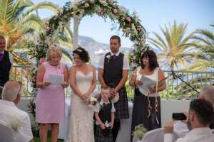 Nikki Kulin Professional Celebrant- Spanish Wedding