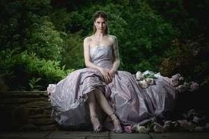 felicity westmacott4 purple taffeta wedding dress