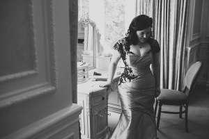 felicity westmacott6 black lace wedding dress
