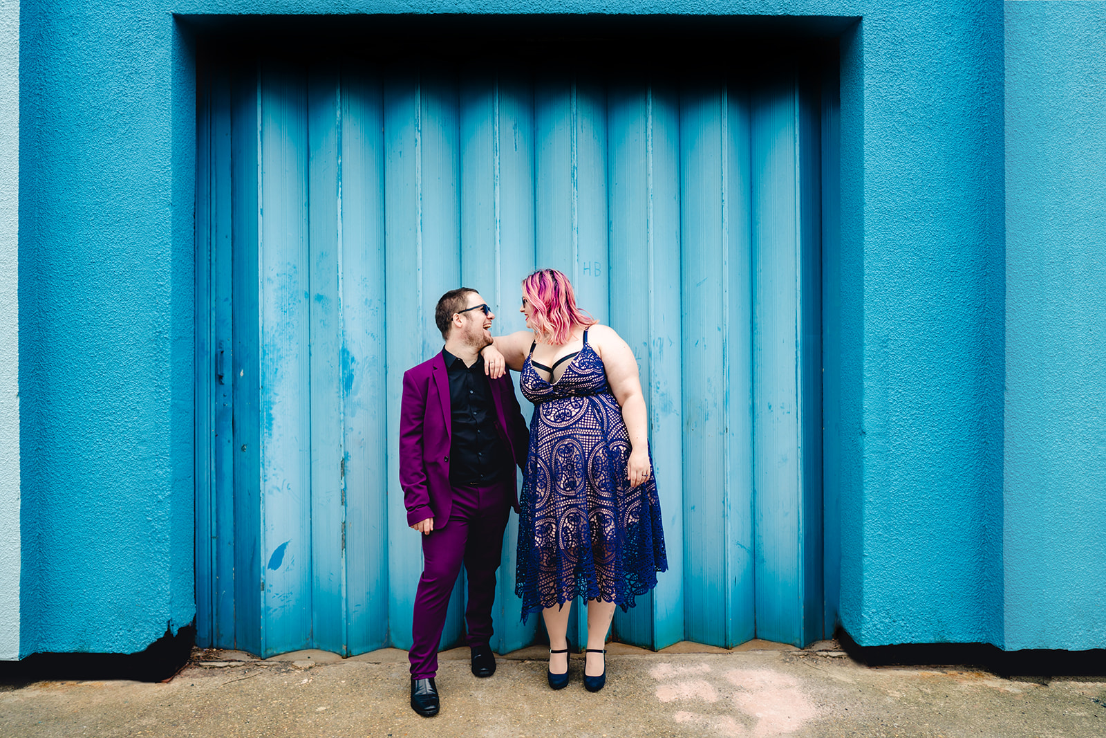 engagement shoots - birmingham engagement shoot - colourful wedding photoshoot - quirky wedding photos - fun wedding photography - alternative wedding - urban wedding shoot