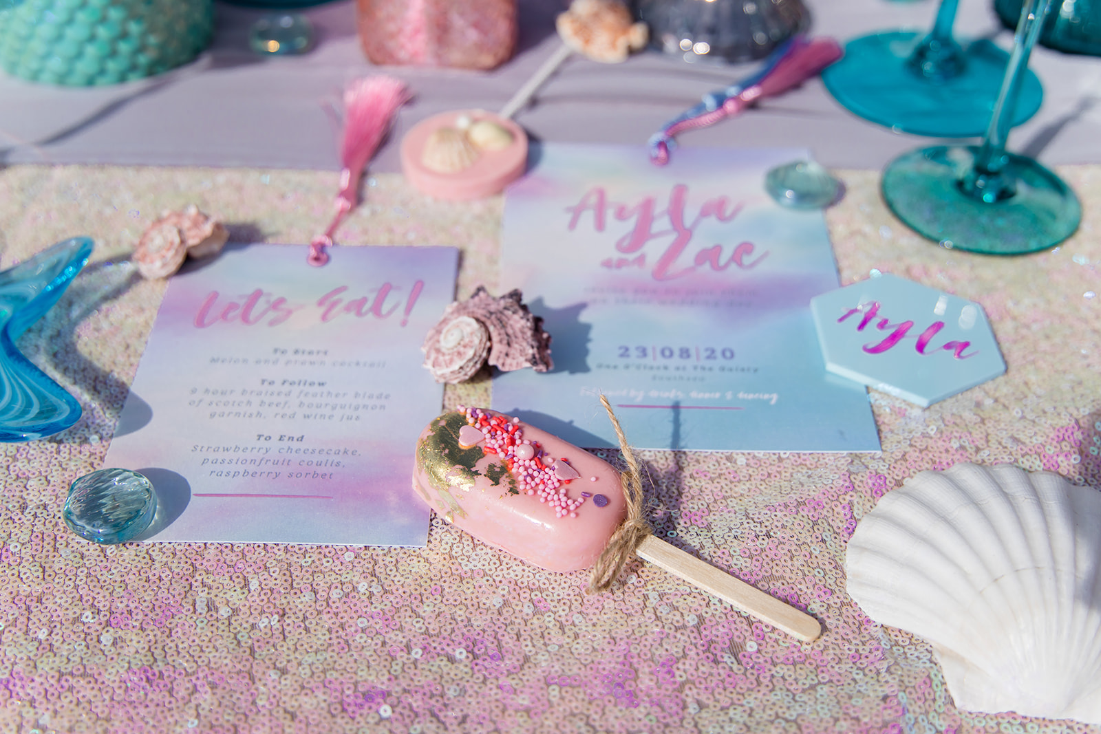 mermaid wedding - beach wedding - quirky wedding - unique wedding - alternative seaside wedding - alternative wedding - mermaid wedding - beach wedding - quirky wedding - unique wedding - alternative seaside wedding - mermaid wedding stationery - mermaid wedding invitations