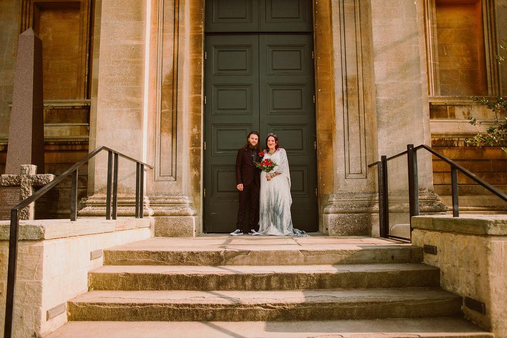 alternative micro wedding - Bristol wedding venue for small weddings - small wedding