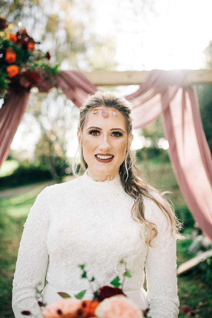 wedding crystal headpiece - unique bridal wear - unique wedding accessories - bohemian wedding accessories - crystal headdress