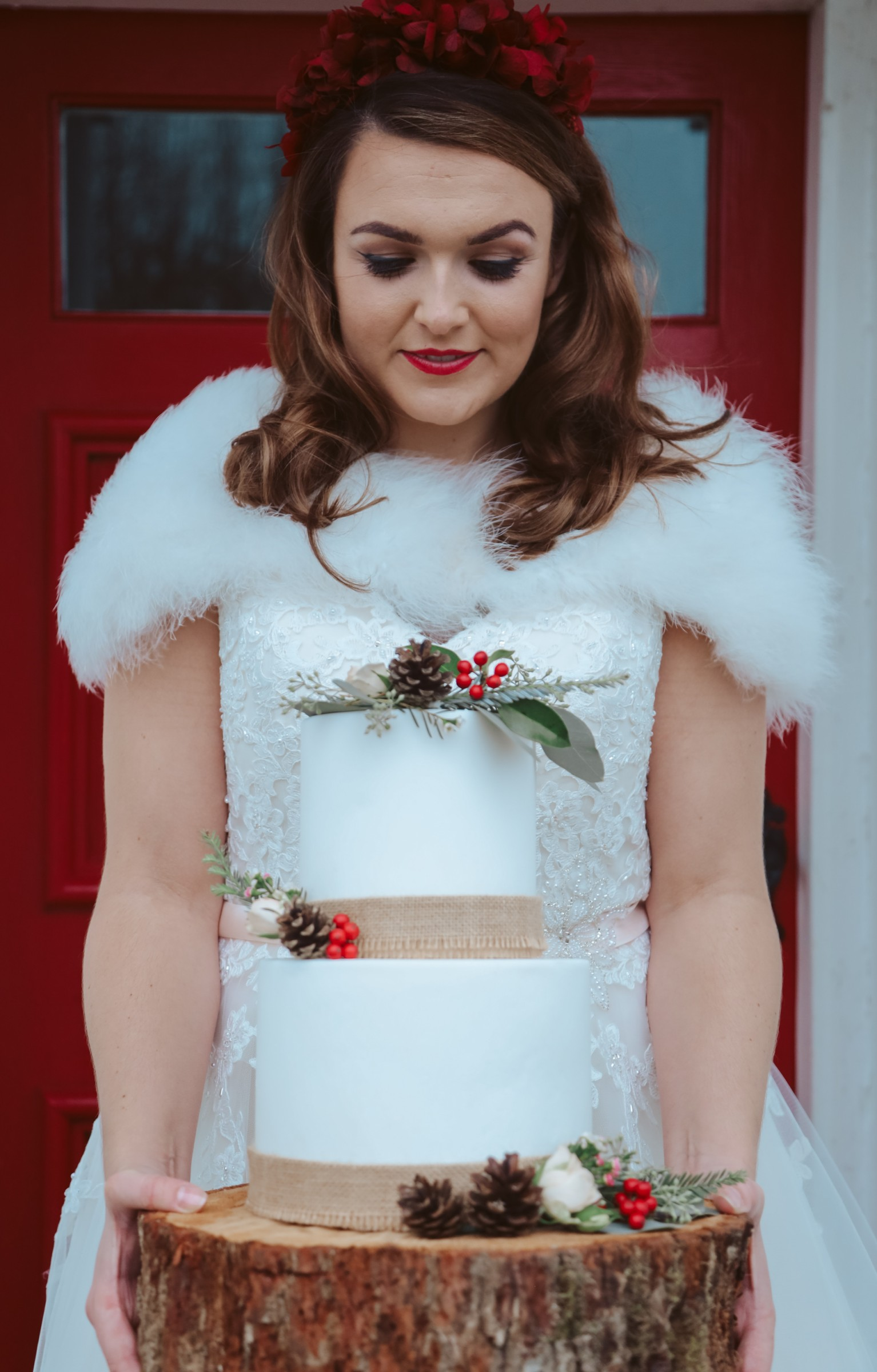 Great Betley Farmhouse wedding venue - Christmas micro wedding - christmas wedding - nhs wedding (4)