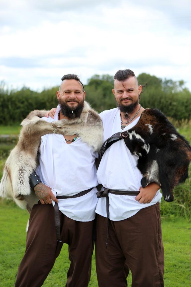 viking wedding - viking groomswear