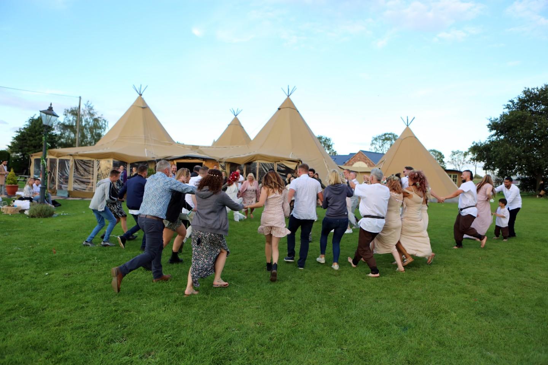festival wedding ideas - fun festival wedding