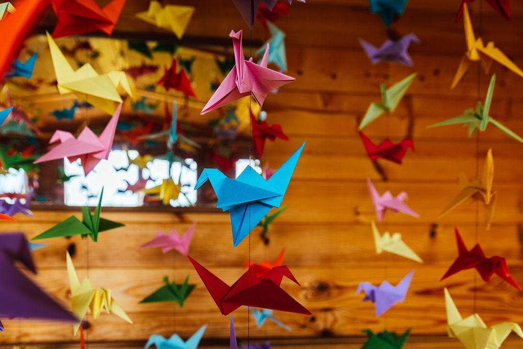DIY wedding ideas - bright festival wedding -colourful wedding