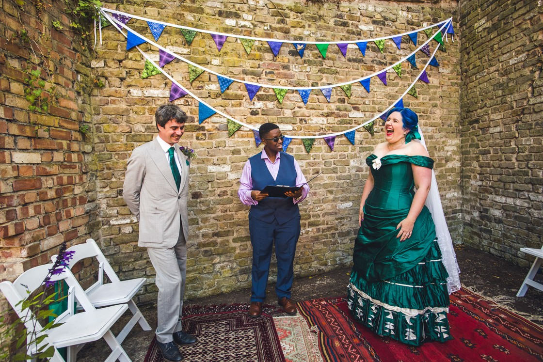 fun wedding ceremony - unique wedding ideas - unconventional wedding