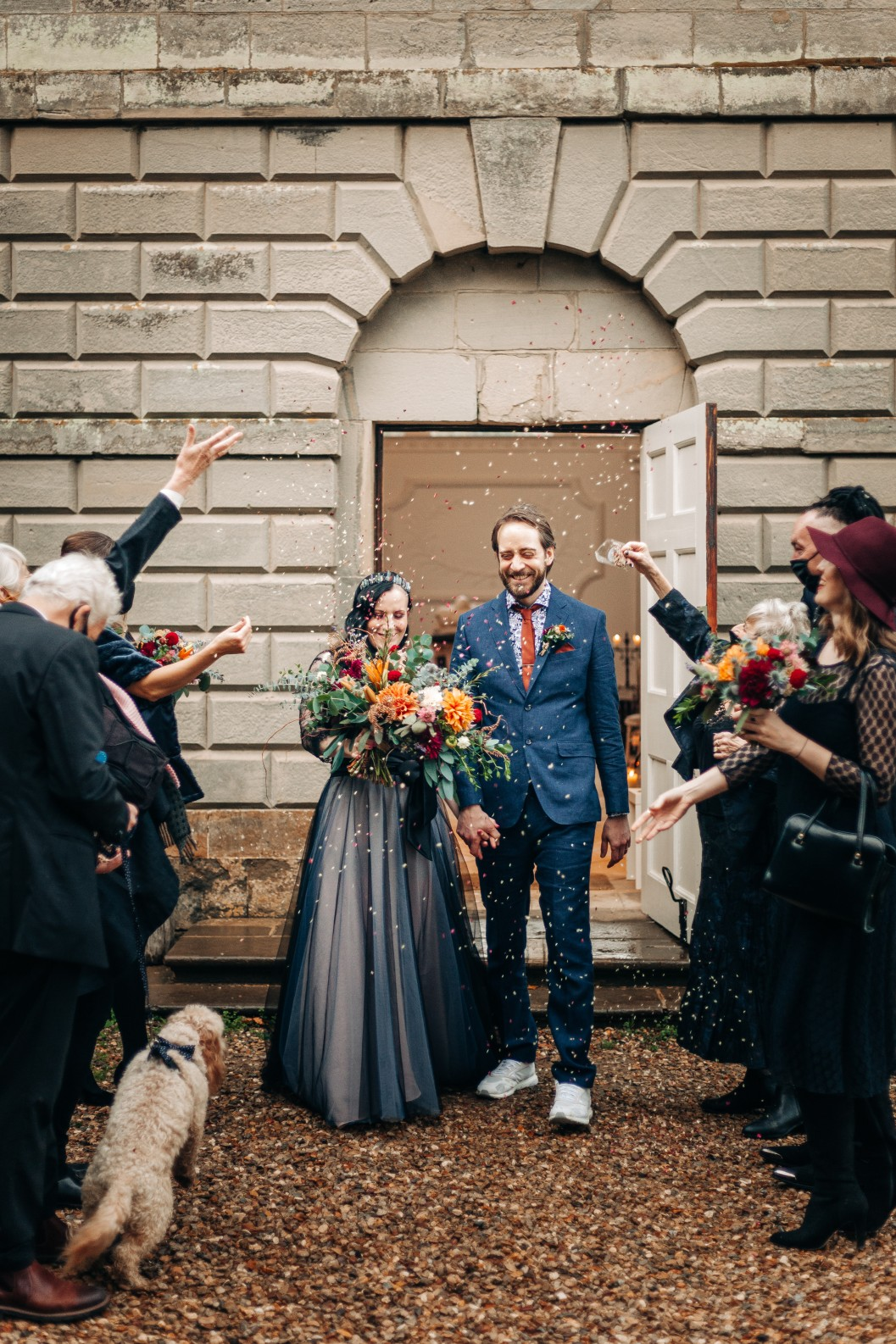 intimate alternative wedding - alternative micro wedding - covid wedding - small wedding ceremony