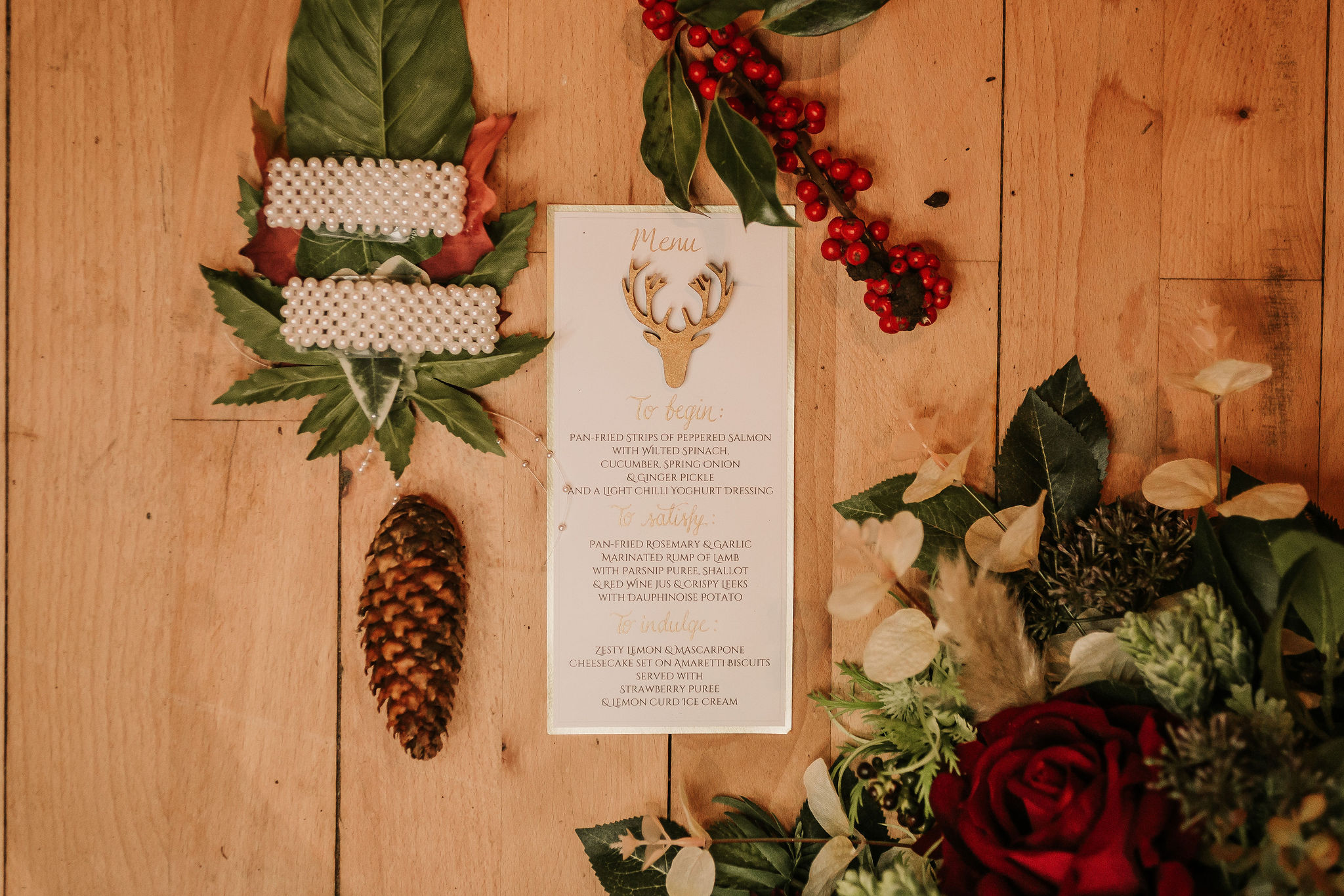 winter wedding stationery - bespoke wedding stationery