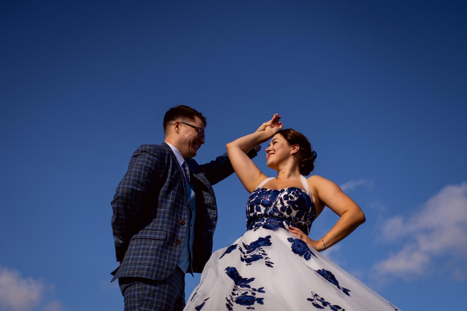 alternative wedding photography - creative wedding photography - artistic wedding photography - unique wedding wear