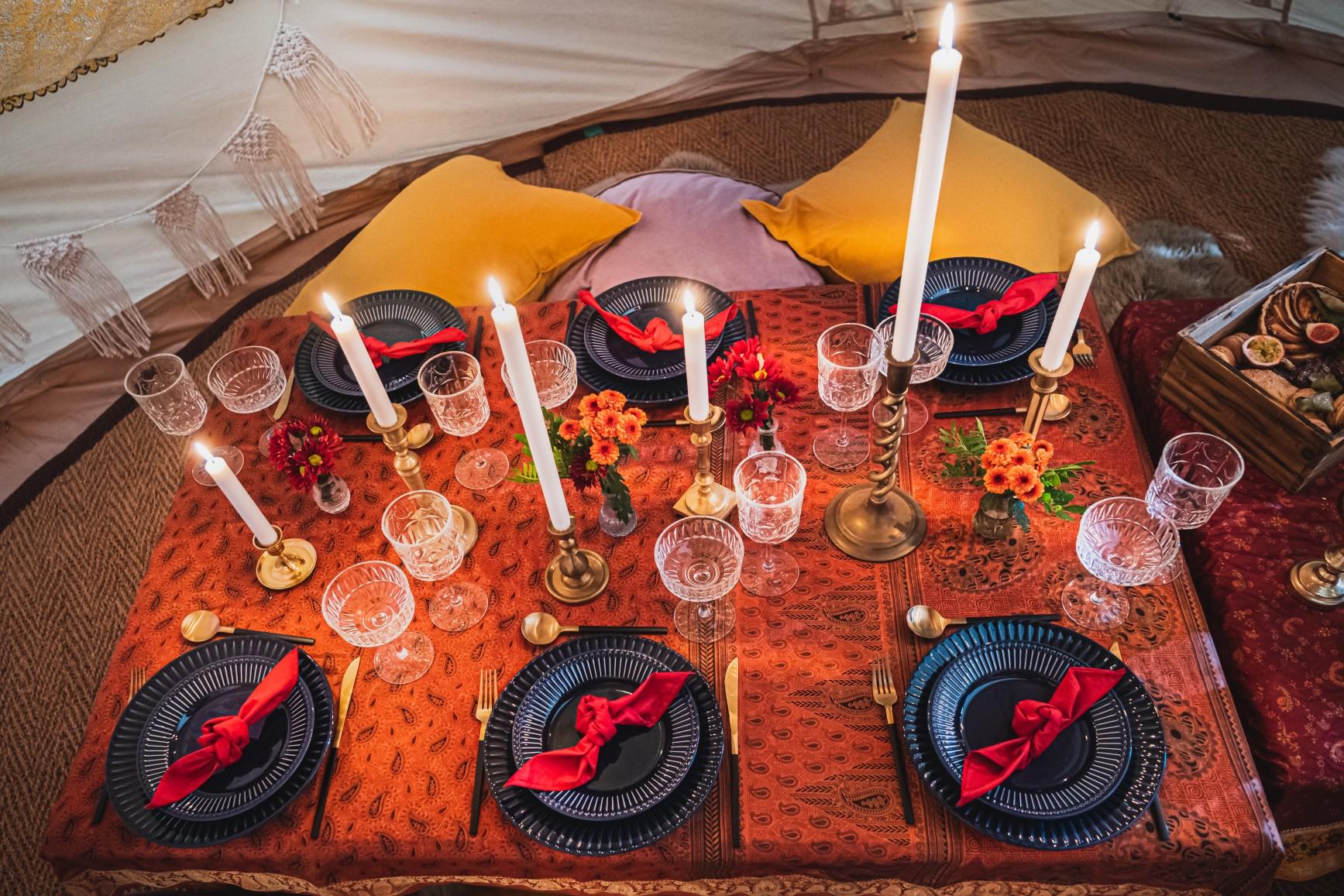 colourful micro wedding at patricks barn - wedding picnic - small wedding catering - boho wedding