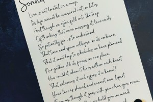 The Occasional Sonnet - 5
