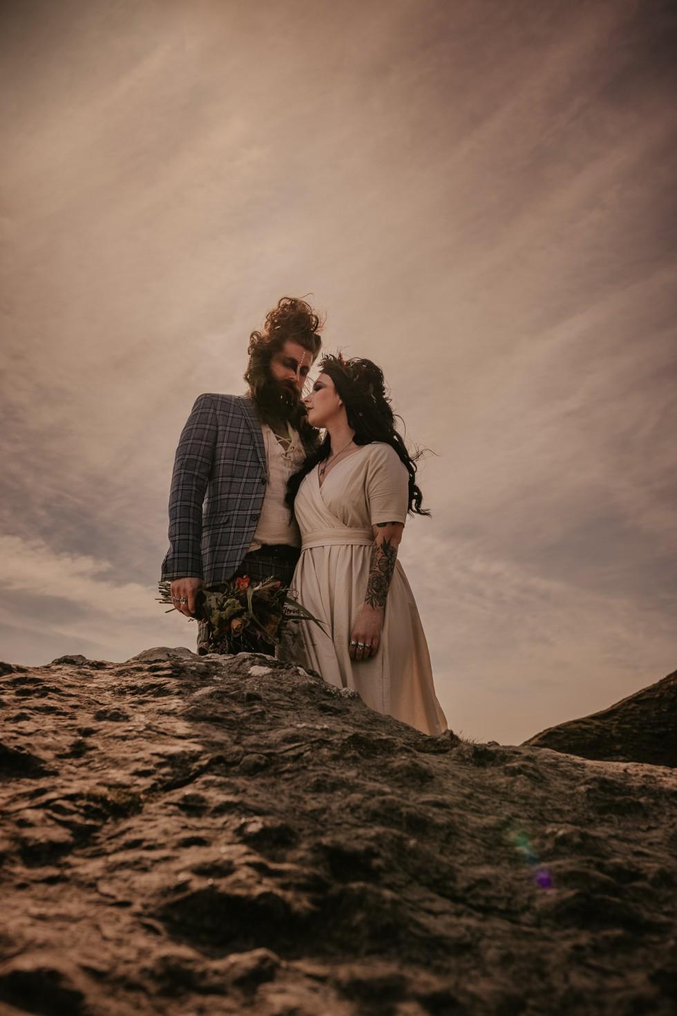 viking wedding - wild wedding - outdoor elopement - alternative wedding - unconventional wedding