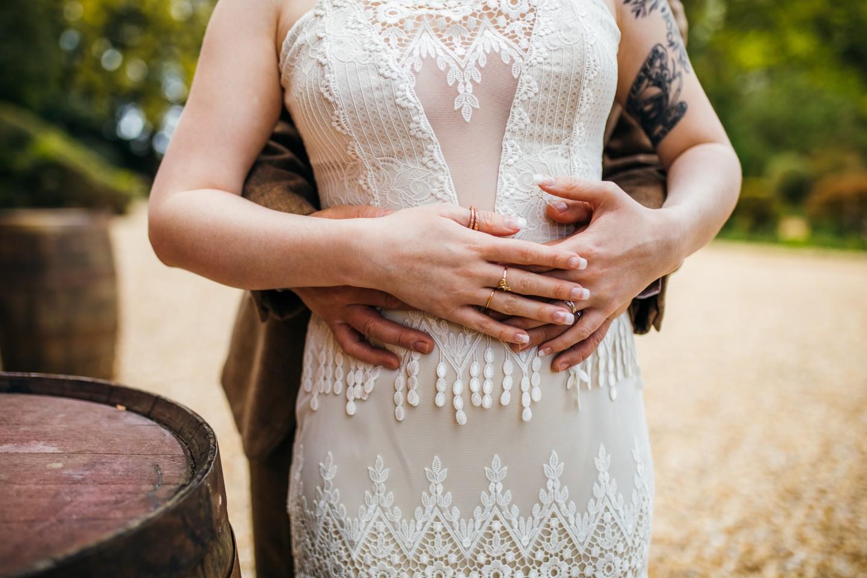peaky blinders wedding - vintage wedding - 1920s wedding - themed wedding inspiration - vintage wedding dress