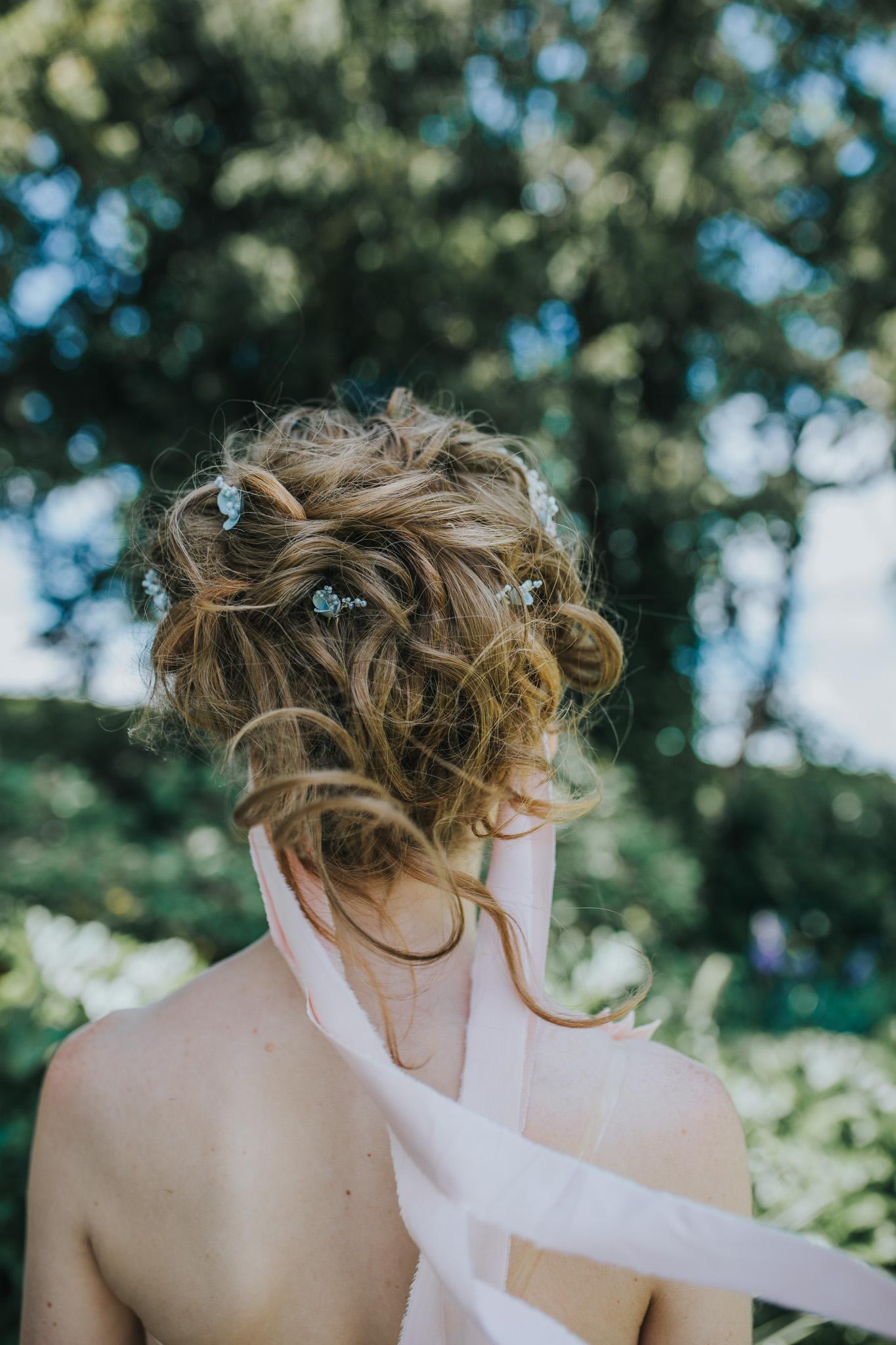 unique wedding hair - unique bridal hair - wedding hair ideas