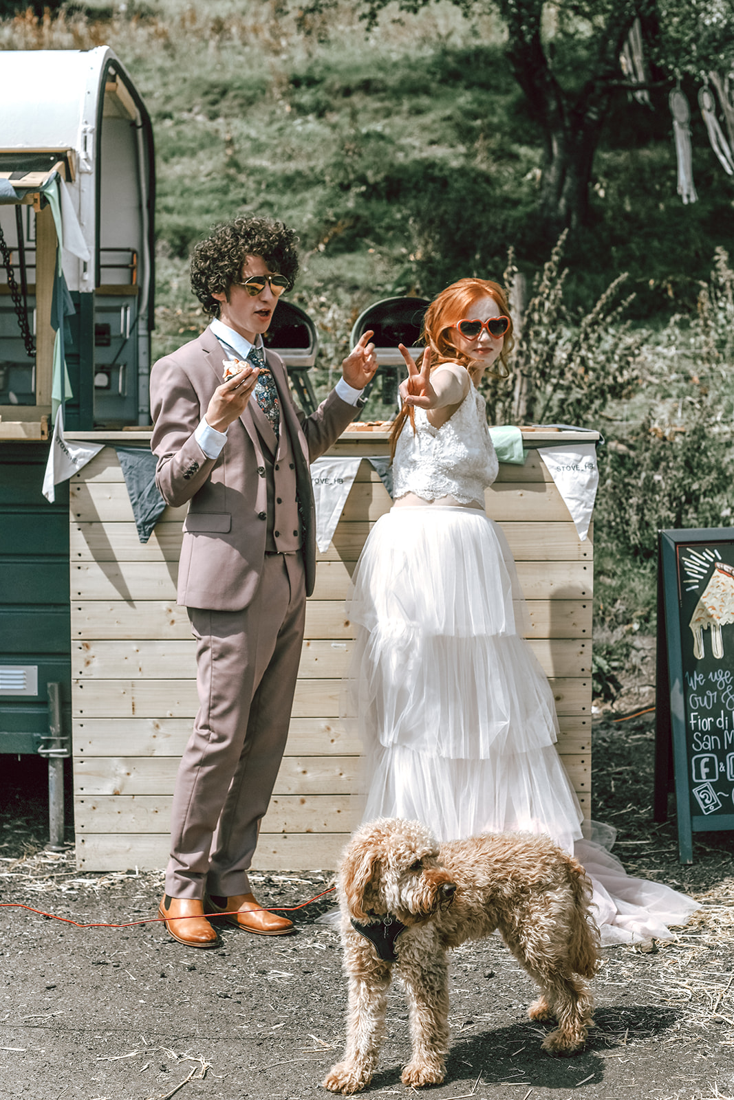 rustic festival wedding - fun wedding - farm wedding - relaxed wedding ideas