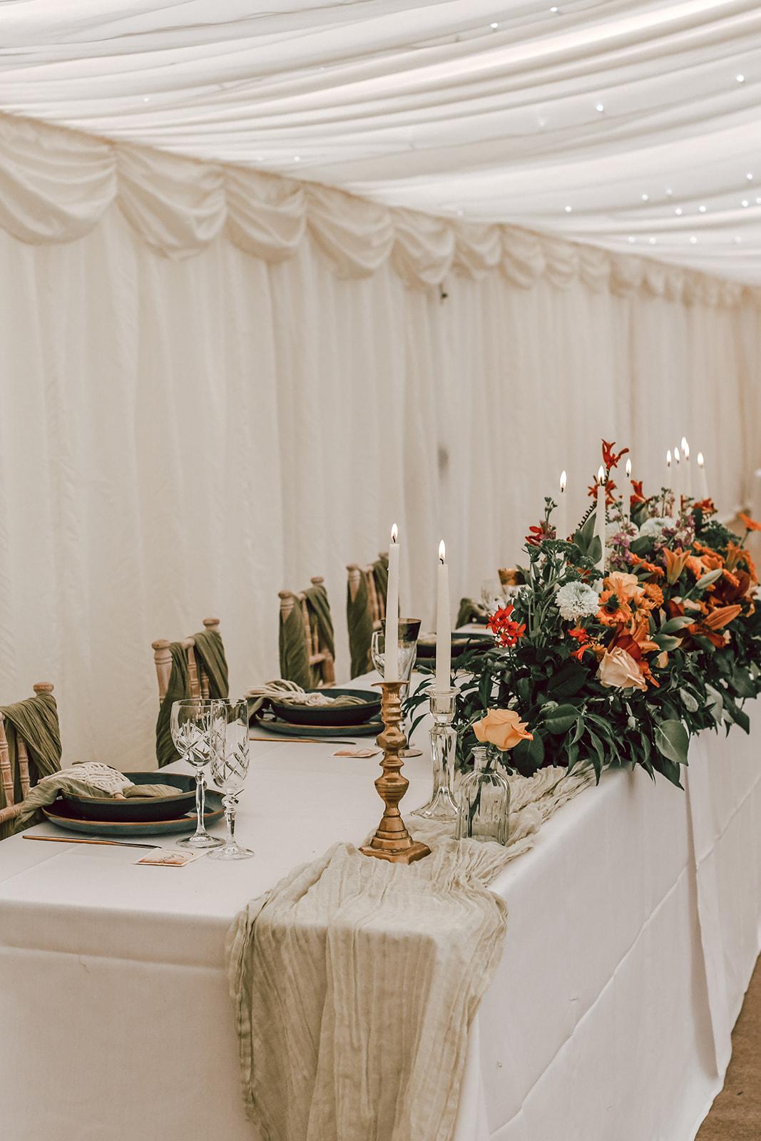 rustic festival wedding - autumn wedding decor - tipi wedding - unconventional wedding