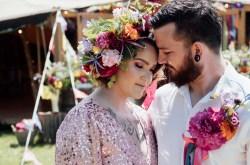 Amafloria - colourful wedding flowers - leicestershire wedding flowers - east midlands wedding florist - alternative wedding flowers