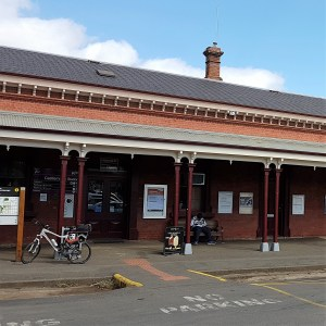 Castlemaine to Maldon Trail - Castlemaine Station