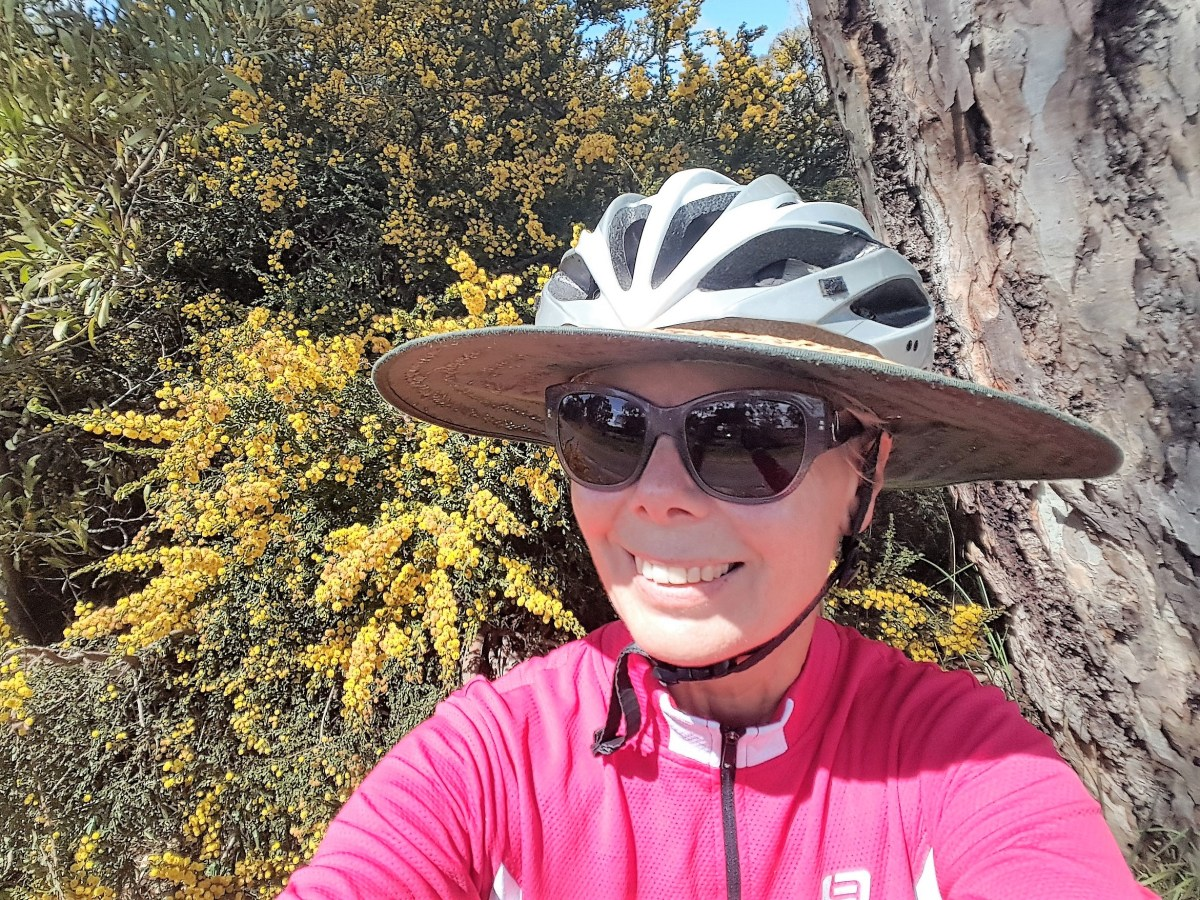 7e7695371be6c How to Make My Cycling Hat - Bike Helmet Hat DIY Instructions