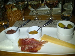 First Course at Salt Cellar Series featuring Stag's Hollow