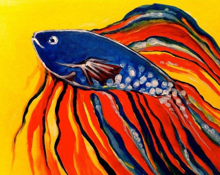 Kids Betta Fish