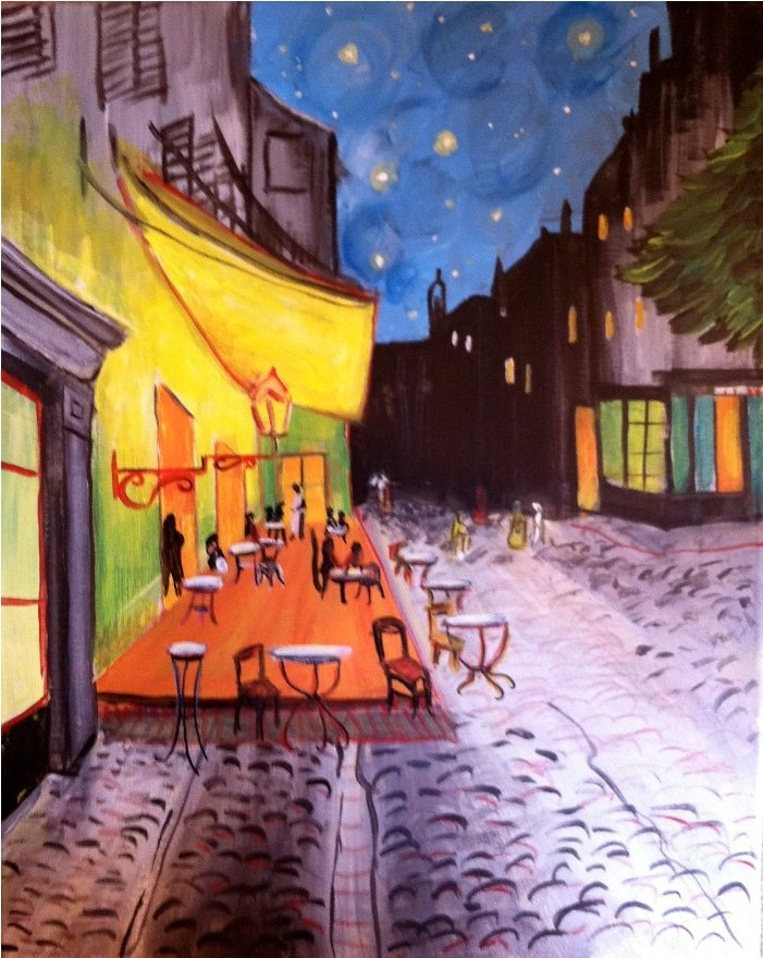 Van Gogh's Cafe at Night