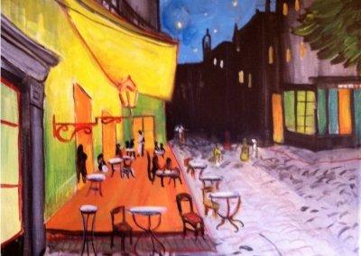Van Gogh's Cafe at Night
