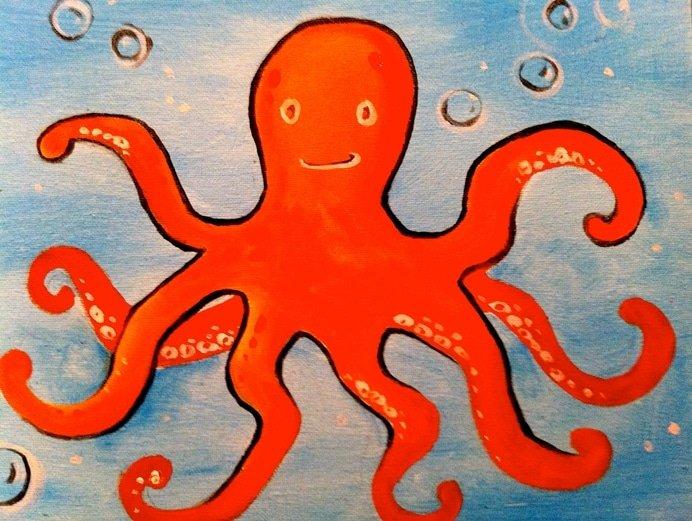 Kids Octopus