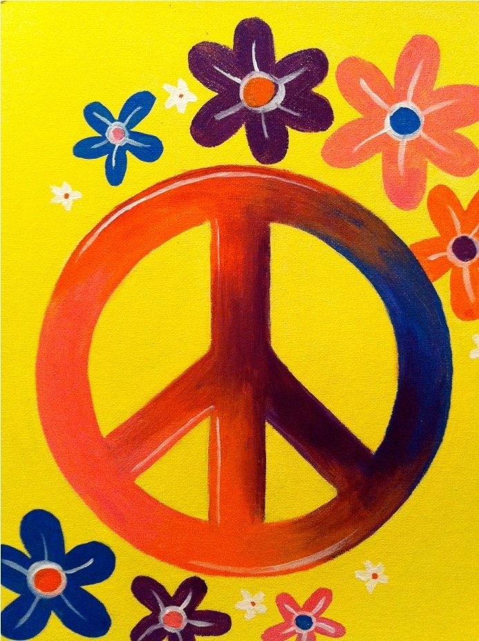 Kids Peace Sign