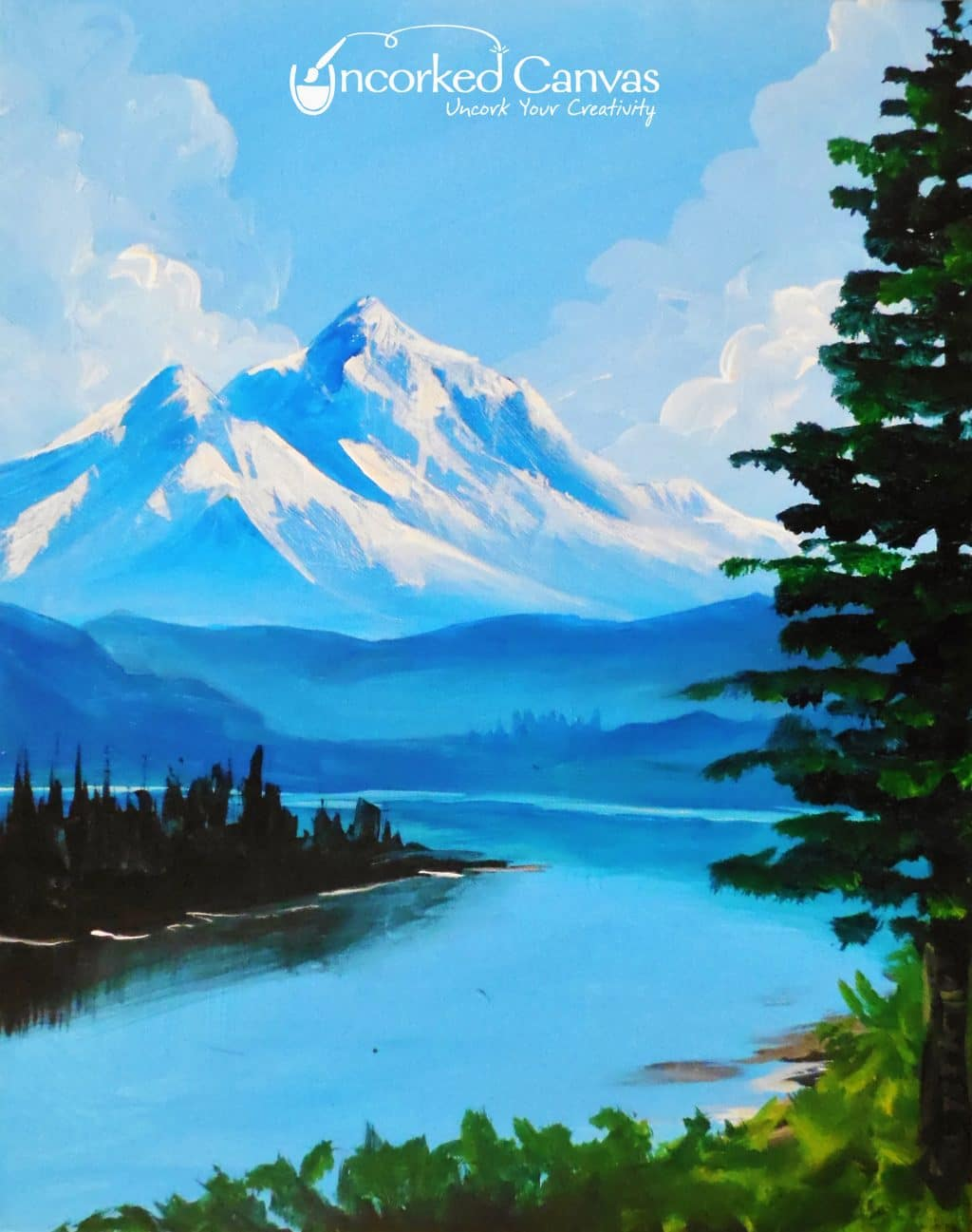 Bob Ross Mountains