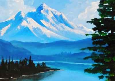 Bob Ross Mountains