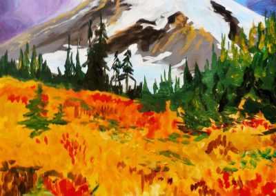 Fall Rainier