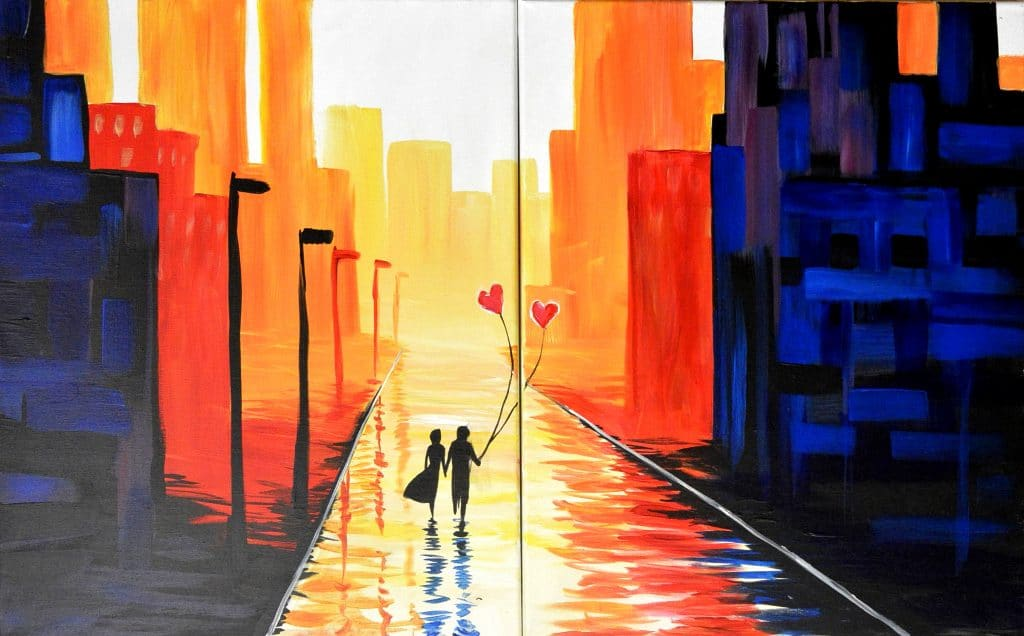 Date Night: Paint the City
