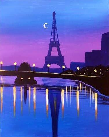 Clair de Lune (Paris, Eiffel Tower)