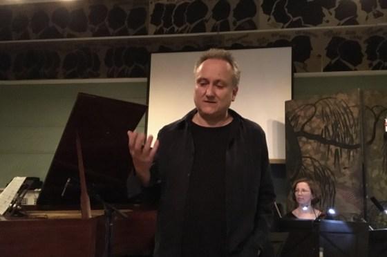 Mark explaining