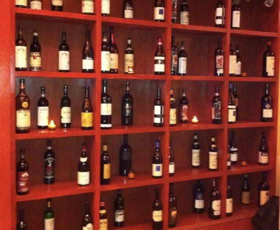 shelves closeup