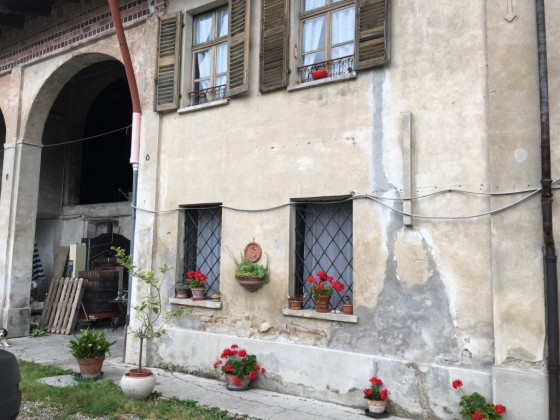front of cascina