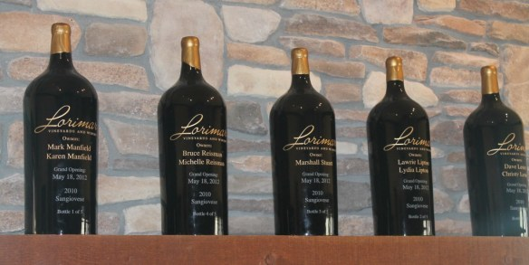 Lorimar's Award Winning Wines