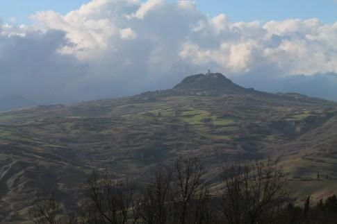 View of Radicafoni from Il Poggio