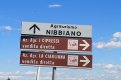Follow the signs to La Ciarliana from Montepulciano
