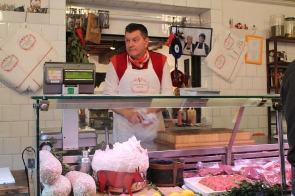 Celebrity status Butcher Dario Cecchini in Panzano