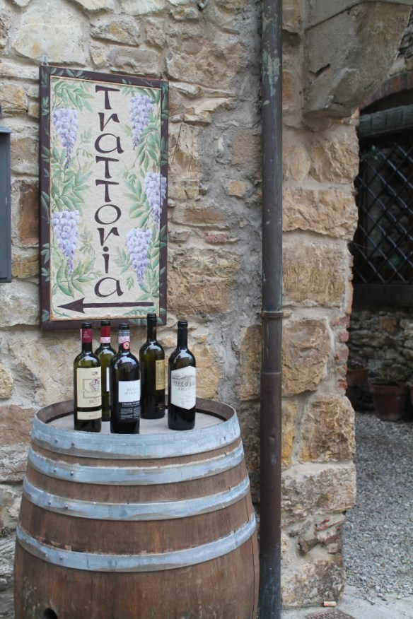 Enotecas are a common sight throughout Chianti