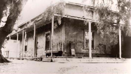 El Rincon Adobe was one of the original homes on the Rancho Santa Manuella homestead int he 1860's.