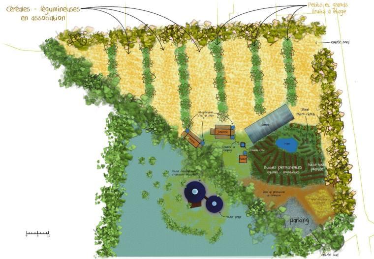 agriculture bio-végétalienne